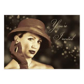 Classy Multi-Purpose Invitation - Vintage Lady