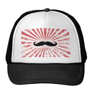 Classy Mustache Hat