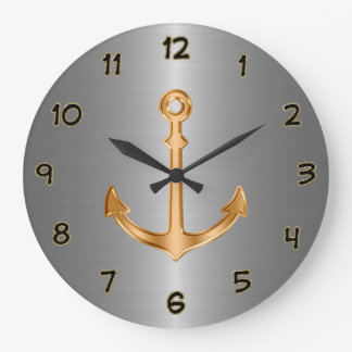 Classy Nautical Wall Decor Clocks