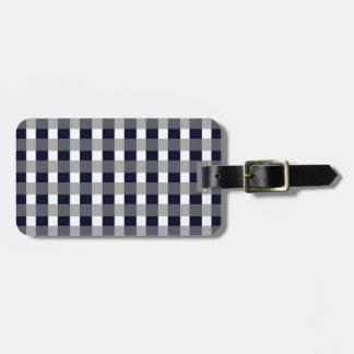 Classy Navy Bag Tag