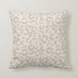 Classy Neutral Animal Cheetah Print Cushion
