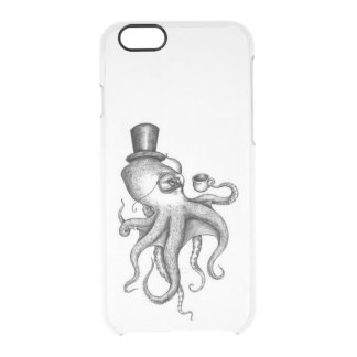 Classy Octopus Clear iPhone 6/6S Case