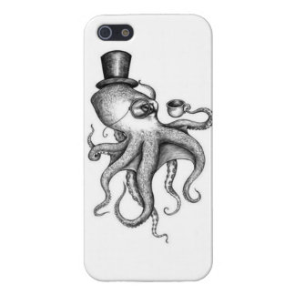 Classy Octopus iPhone 5/5S Cases