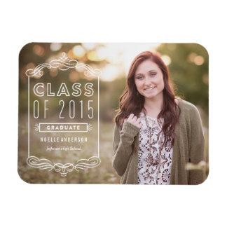 Classy Overlay | Graduation Magnet