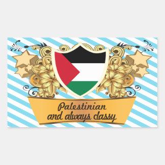 Classy Palestinian Rectangular Sticker