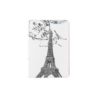 Classy Paris passport Holder