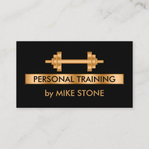 Trainer business cards business card printing zazzle uk classy personal trainer business card colourmoves