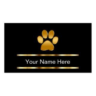 Classy Pet Care Business Cards