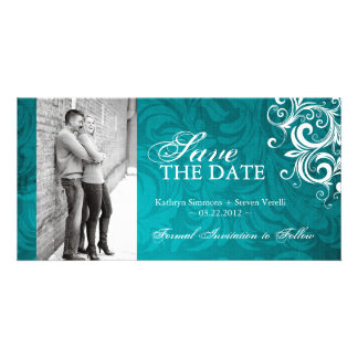 Classy Photo Save The Date Invitation Photo Card