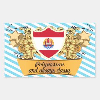 Classy Polynesian Sticker