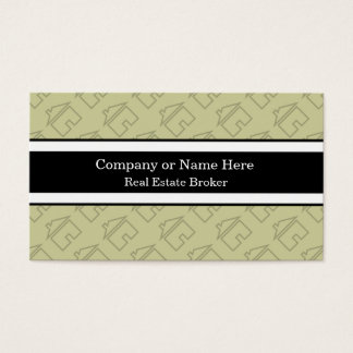 Classy Real Estate Business Cards