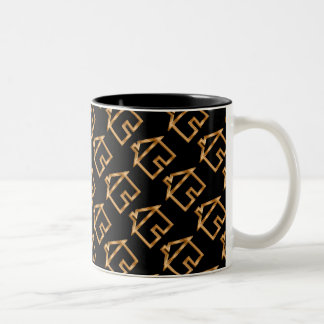 Classy Real Estate Theme Two-Tone Coffee Mug