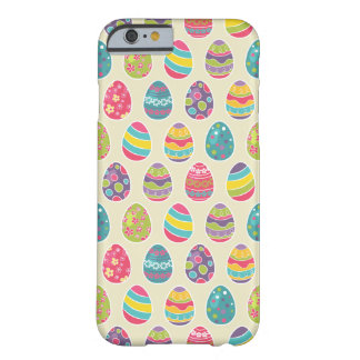 Classy Retro Easter Eggs Happy Easter Day Barely There iPhone 6 Case