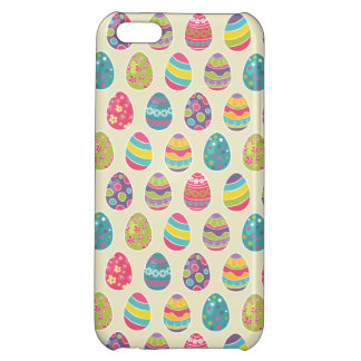Classy Retro Easter Eggs Happy Easter Day Case For iPhone 5C