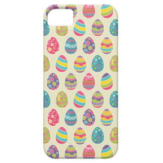 Classy Retro Easter Eggs Happy Easter Day iPhone 5 Cover