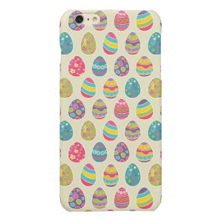 Classy Retro Easter Eggs Happy Easter Day iPhone 6 Plus Case