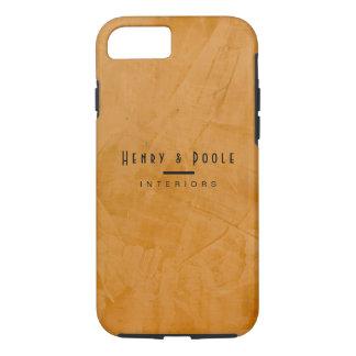 Classy Rustic Dante Orange Interior Designer iPhone 7 Case