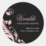 Classy Salon Stickers | Envelope Seals