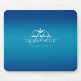 Classy Scales of Justice | Blue Mouse Mat