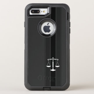 Classy Scales of Justice | Law Office OtterBox Defender iPhone 8 Plus/7 Plus Case