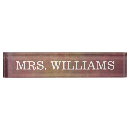 Classy + Simple Professional Name Plate