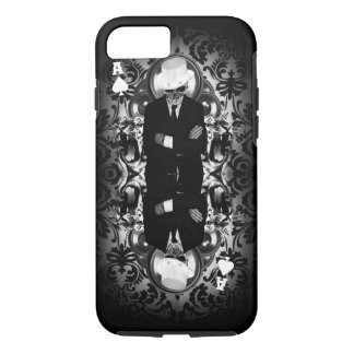 Classy skull ace of spades iPhone 7 case