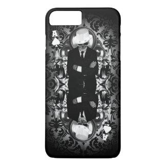 Classy skull ace of spades iPhone 7 plus case