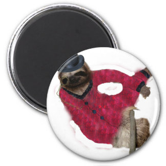classy sloth magnet