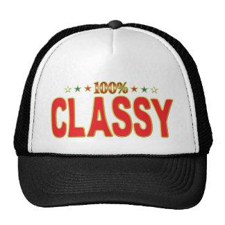 Classy Star Tag Mesh Hats