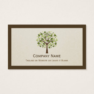 Tree business cards business card printing zazzle uk classy tree of hearts simple clean stylish business card colourmoves