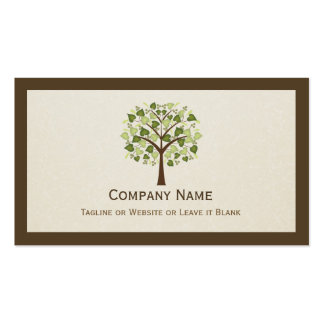 Classy Tree of Hearts - Simple Clean Stylish Pack Of Standard Business Cards