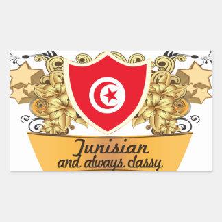Classy Tunisian Sticker