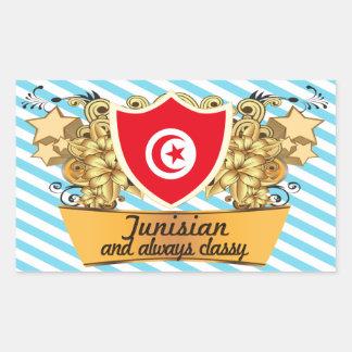 Classy Tunisian Rectangle Sticker