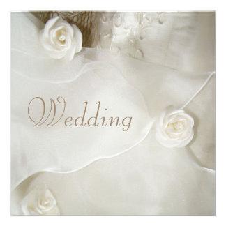 Classy Vintage Wedding Gown Wedding Announcement