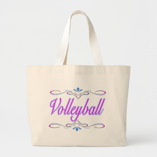Classy Volleyball Large Tote Bag