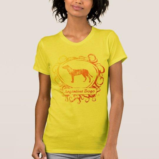 Classy Weathered Argentine Dogo T-Shirt