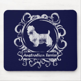 Classy Weathered Australian Terrier Mouse Pad