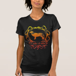 Classy Weathered Border Collie T Shirt