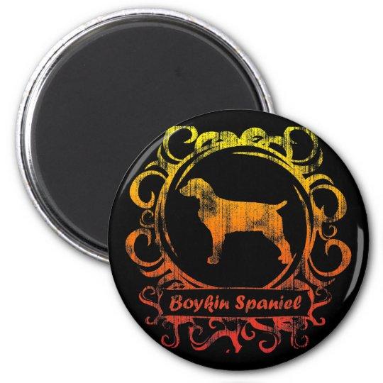 Classy Weathered Boykin Spaniel 6 Cm Round Magnet