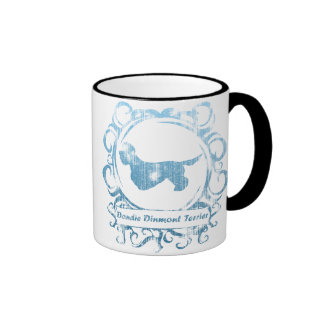 Classy Weathered Dandie Dinmont Terrier Coffee Mug