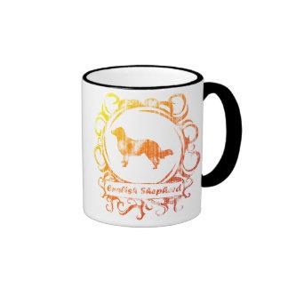 Classy Weathered English Shepherd Mug