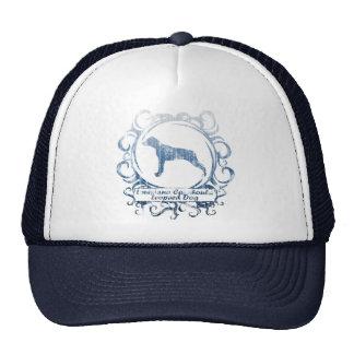 Classy Weathered Louisiana Catahoula Leopard Dog Hat