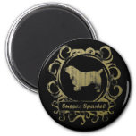 Classy Weathered Sussex Spaniel Fridge Magnets