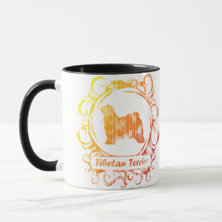 Classy Weathered Tibetan Terrier Mug