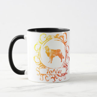 Classy Weathered Toller Mug