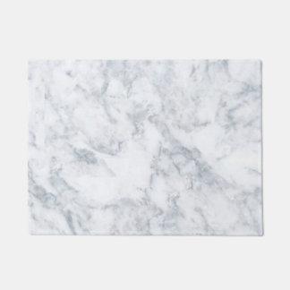 Classy White Marble Look Doormat