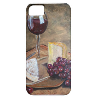 Classy Wine and Cheese Art Case For The iPhone 5