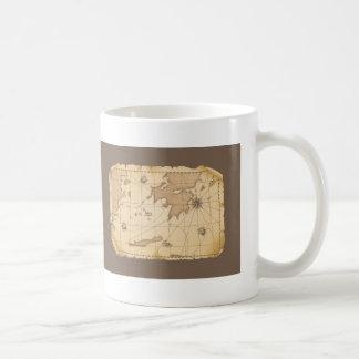 Classy World old map Classic White Coffee Mug