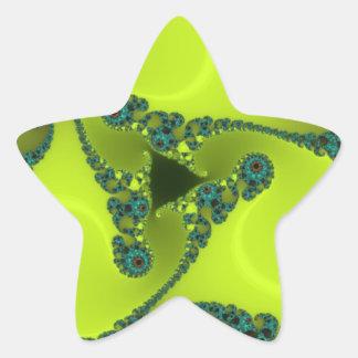 Classy Yellow Star Sticker
