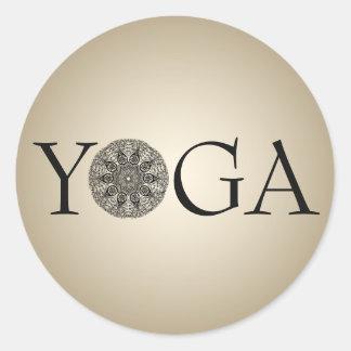 Classy YOGA Sticker